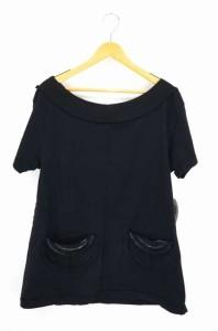 TELFAR(テルファー) ボートネックTシャツ サイズimport:S メンズ 【中古】【ブランド古着バズストア】
