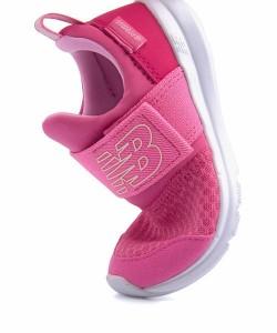 c898237d4529b new balance(ニューバランス) PREMUS SLIP ON INFANT (IOPRES) ベビースニーカー(プレマススリップオンインファント)  190460 PN ピンク