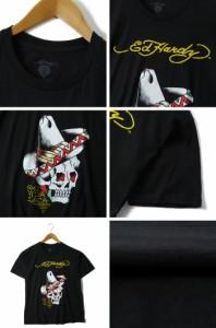 【大きいサイズ】【メンズ】ED HARDY(エド・ハーディー)半袖プリントTシャツ【USA直輸入】eh12-1201