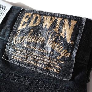 【大きいサイズ】【メンズ】EDWIN(エドウィン) 452XVB ジップ レギュラーストレートパンツ 452xvb