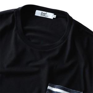 【大きいサイズ】【メンズ】DANIEL DODD ポケット付ロングTシャツ【秋冬新作】azt-170471
