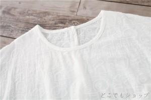 原宿系♪ カジュアル ファッション キレイめ ゆったり 五分、七分袖 衣装 Aライン 個性的 ひざ丈 レディース ミモレ ワンピース 大人可愛
