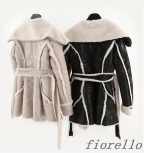 毛皮コート 人気 上質 長袖 暖かい ロングコー 上着 ジャケット ファーコートレディース アウター トアウター 防寒防風 冬物 おしゃれ コ
