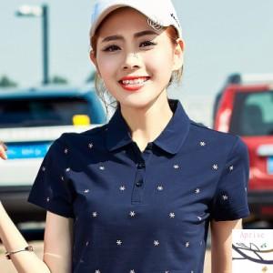 大人気 新作 スポーツウェア ポロシャツ レディース カジュアル ポロシャツ 半袖ポロ ゴルフウェア