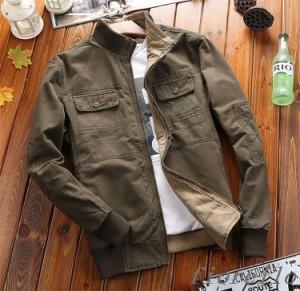 ジャケット メンズジャケット カジュアル M 3XL ブルゾン L 2XL アウター 大きいサイズ XL 4XL ミリタリージャケット