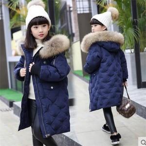 ダウンコート 女の子 ダウンジャケット 防寒 子供 フード付き 冬 ロング キッズ ジュニア