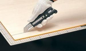 オルファ カッター ノンスリップH型 151BG 10個セット 新感触 滑らない 手にやさしいゴム質ソフトグリップ