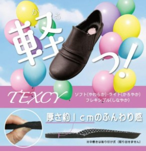 アシックス商事 レディース TEXCY テクシー デイリーカジュアルシューズ TL-13830 ダークブラウン
