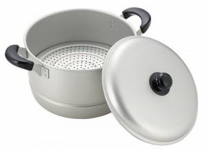 パール金属 H-2416 ニューセレット アルミ両手兼用鍋26cm 軽くて使いやすいお鍋