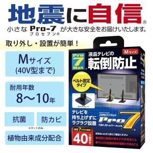 Pro-7 プロセブンマット 液晶テレビベルトストッパー Mサイズ(40V型まで) BST-N0552B