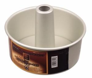 ラフィネ アルミ製シフォンケーキ焼型17cm D-6111 熱伝導性のよいアルミ製ケーキ焼型