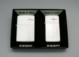 ZIPPO(ジッポー) ライター ラバーズ・クロス ペアSIDE