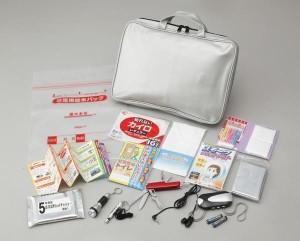 """""""防災用品 防災・貴重品バッグセット C  BK15-500 防災用品・貴重品が収納できるバッグです"""""""