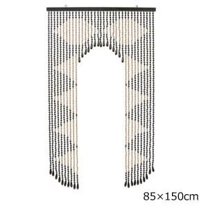 ヒョウトク そろばん珠のれん W85×H150cm AS-150 丹念に玉を一粒一粒通した伝統の珠のれん