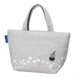 pos.311987 スエット地ランチバッグ ムーミン お花畑  KNB1 サブバッグとしても重宝するムーミンの手提げバッグ