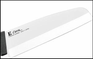 フォーエバー 日本製 Ecera イーセラミック 菜切包丁 165mm・黒ハンドル ECW-165NB サビにくいセラミック包丁