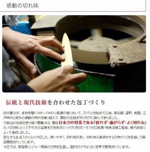 関兼次 PRO・S 日本製 オールステンレス包丁 牛刀 240mm 5006