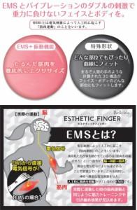 Bellcida(ベルシーダ) エステティックフィンガー EMS+振動 フェイス&ボディ用