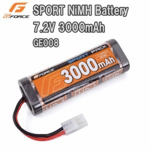 G-FORCE ジーフォース SPORT NiMH Battery 7.2V 3000mAh GE008