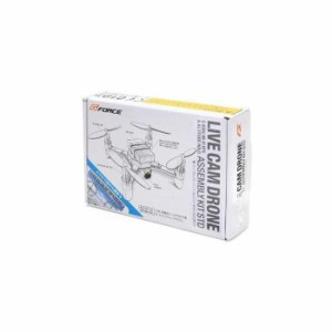 G-FORCE ジーフォース LIVE CAM DRONE ASSEMBLY KIT STD (送信機レス) GB391 DIYドローンキット 自分で作る組み立て式ドローンキット