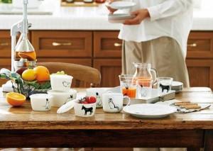 ニコライフ アニマルズ ペアマグ 50815 自由で個性的な器が 食卓に幸せを運びます