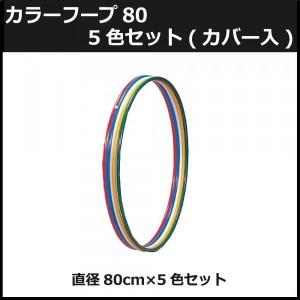 カラーフープ80 5色セット(カバー入) NLS-380