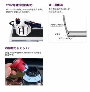ワンダーシェフ eliyum(エリユム) 両手圧力鍋 5.5L 630308(支社倉庫発送品)