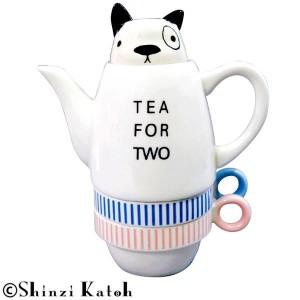Shinzi Katoh Tea For Two ティーフォーツー French bulldog(フレンチブルドッグ) SKTFT-03