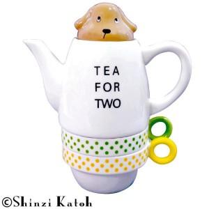 Shinzi Katoh Tea For Two ティーフォーツー Miniature dachshund(ミニチュアダックスフンド) SKTFT-04