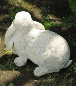 ガーデンオーナメント(M) Rabbit(ラビット) 2個セット KH-60869