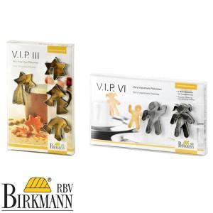 ドイツBIRKMANN(ビルクマン) クッキー抜き型 VIPシリーズ VIP III &VIセット BVIP-36