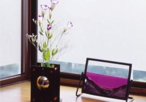 GDS-9250 空気が抜けやすい窓飾りシート(スリガラスタイプ) 92cm丈×90cm巻 クリアー
