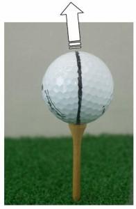 ゴルフボール・スイートスポット・ファインダーチェックGOプロ