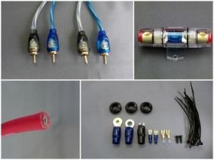 パワーアンプ用4ゲージ配線キット BP-14