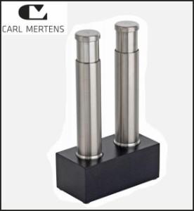 CARL MERTENS カールメルテンス TWINS ソルト&ペッパーミル 5806 1061(支社倉庫発送品)