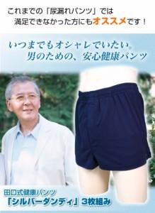 田口式健康パンツ シルバーダンディ 3枚組