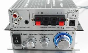 最新 Lepy(lepai)デジタルアンプ LP-2024A + TAA2008 ブラック(black)LP2024a
