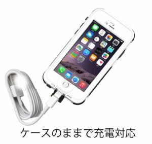 安さに挑戦! 指紋認識対応iPhone6防水ケース 4.7 インチ 専用防水 防塵ケース ip6smc47