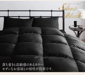 羽毛布団セット ダブル ベッドタイプ ロイヤルゴールドラベル ポーランド産ホワイトダック90% ダブル