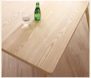 ダイニングテーブル 幅140cm やさしい色合いの北欧スタイル おしゃれ