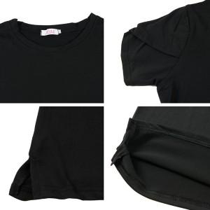 チューリップ袖 Tシャツカットソー トップス メール便 送料無料 dm