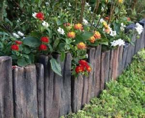 NXstyle 花壇材 ガーデンスリーパー段違四連 ×15個 9900282(支社倉庫発送品)