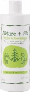 ネイチャー+エイド ティーツリー&アロエシャンプー 475ml