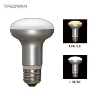 """YAZAWA(ヤザワ) レフ形LED電球 口金E26 LDR7 """