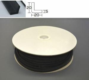 光 (HIKARI) スポンジアングルドラム巻 5×20×20mm KSL220-20W 20m(支社倉庫発送品)