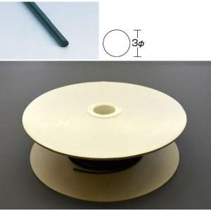 光 (HIKARI) スポンジドラム巻 3mm丸 KS03-100W 100m(支社倉庫発送品)