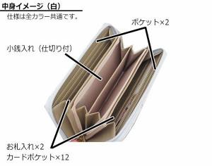 DaisyRico デイジーリコ ワンダーランド うさぎ ラウンド型長財布 DR3-11