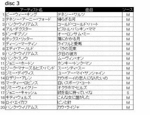 3枚組CDシリーズ アルティメットエディション カントリー&ウエスタンベスト60 3ULT-006