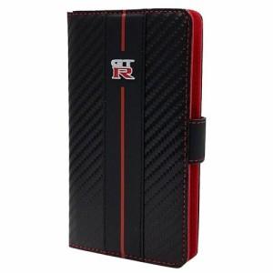 エアージェイ GT-R Universal Book Type Case for Smartphone Leather S Size NR-SAM1BK(支社倉庫発送品)