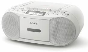ソニー CFD-S70-WC CDラジカセ(ホワイト)(支社倉庫発送品)